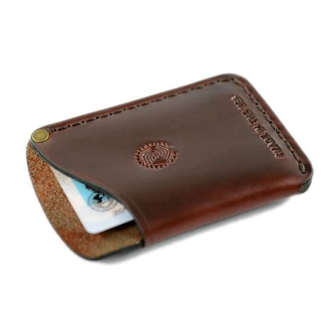 card holder card holder wallet espresso