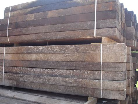 Where Can I Buy Railway Sleepers by Used Jarrah Relay Grade Railway Sleepers Railwaysleepers