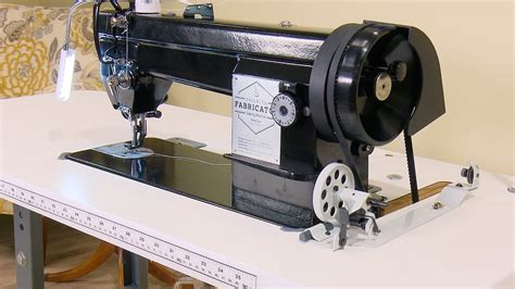 awning sewing machine sailrite 174 fabricator sewing machine in power stand with