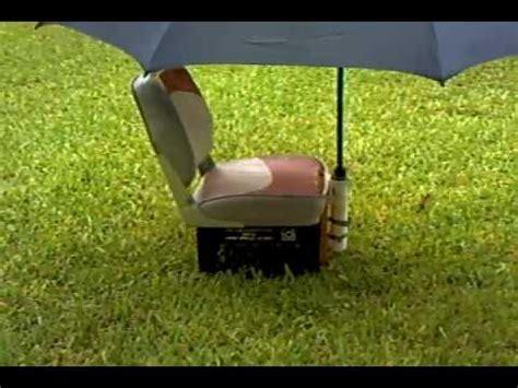 make boat umbrella holder jon boat seat rod holder umbrella holder youtube