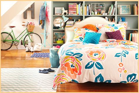 orange schlafzimmerdekor dekoartikel ideen sommer dekoration aequivalere