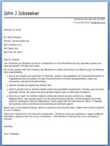 Cover Letter Security by Information Security Specialist Cover Letter Resume Downloads