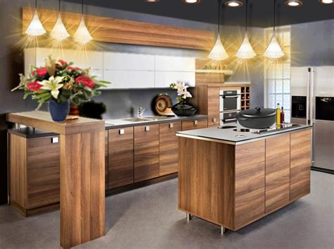 Idee Cuisine Bois by Id 233 E D 233 Co Une Cuisine En Bois Chic Et Moderne Floriane
