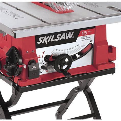 skil table saw review skil 3410 02 blade tilt lever