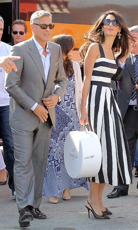 Who Wore Dolce Gabbana Better George Or Rowland by The Many Shoes Of Amal Clooney Purseblog