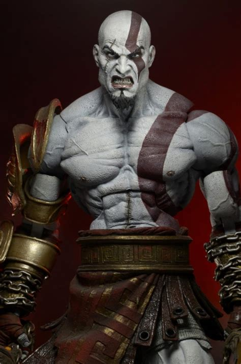Large Scale Cara Figure god of war 3 ultimate kratos figure necaonline