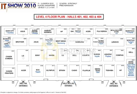 sony centre floor plan floor plan map suntec level 4 it show 2010 price list