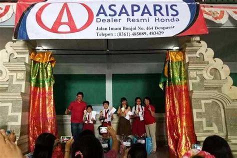 lomba pidato media siswa berbagi informasi lingkungan perayaan hari kemerdekaan dealer honda asaparis gelar