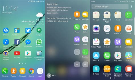 galaxy s7 launcher for android samsung galaxy note 7 launcher apk graceux launcher naldotech