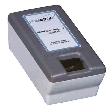 cross match verifier 300 lc 2 0 optical fingerprint scanner