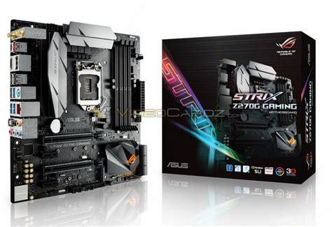 Asus Rog Strix Z270i Gaming Aura Lga1151 Z270 Ddr4 usb 3 1 motherboard connector revealed small form factor