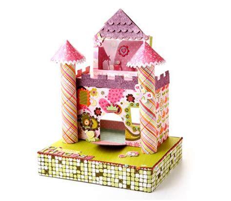 Silhoette Cameo Bekas cardboard princess castle allcrafts free crafts update