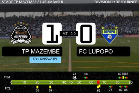 Calendrier T P Mazembe Tp Mazembe Fc Lupopo Fin Du Match
