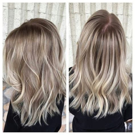 platinum highlights with ash brown hair 25 beautiful ashy blonde highlights ideas on pinterest