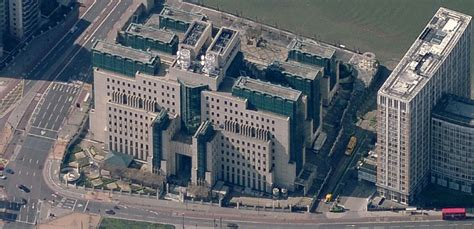 MI6 Headquarters, Vauxhall Cross   Public Intelligence