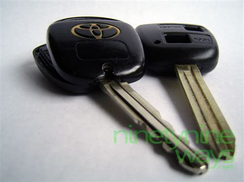 Replacement Toyota Key How I Saved Hundreds Replacing A Broken Toyota Corolla Key