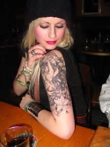 half sleeve tattoos for women combine post