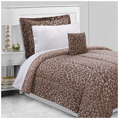 big lots bed in a bag dan river 174 twin ombre cheetah 6 piece bed in a bag