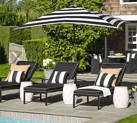 Black And White Striped Umbrella Patio Black And White Stripe Perfection Black White Pinterest Patio Cushions Side Yards And