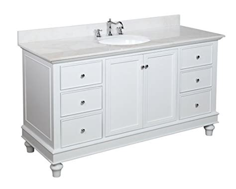 60 inch single sink bathroom vanity whitewhite