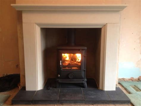 Log Burner Fireplace Surrounds by Log Burner White Surround Home Sweet Home