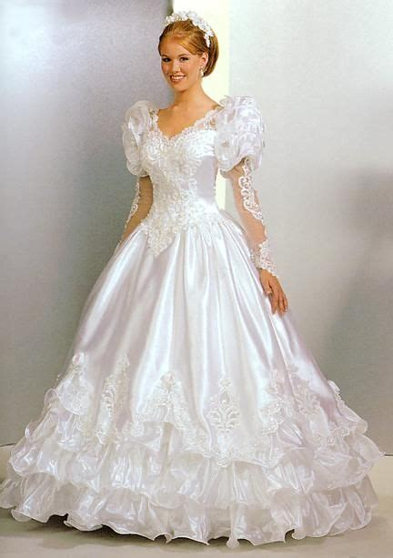 Brautkleider 80er by 1000 Images About 1980 S Wedding Dress On