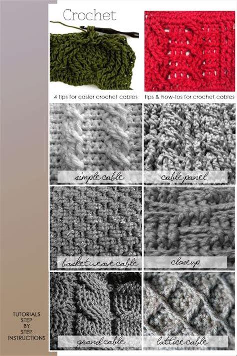 crochet pattern types different crochet patterns crochet and knit