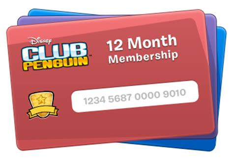 Club Penguin Gift Card - image club penguin sle gift certificate png club penguin wiki the free