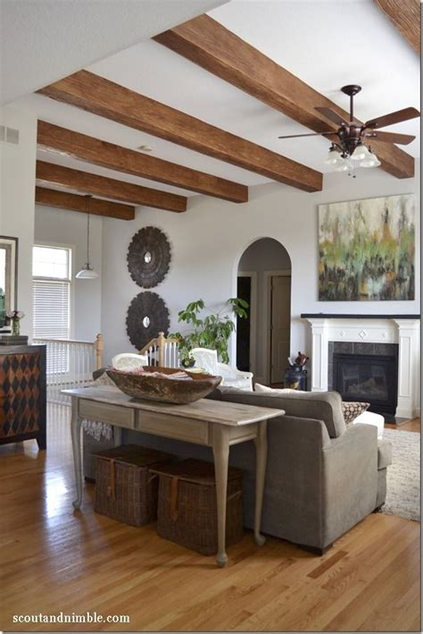 wooden beam ceiling for contemporary dining room ideas the 25 best exposed beam ceilings ideas on pinterest