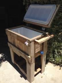 diy rustic outdoor pallet cooler pallet furniture diy