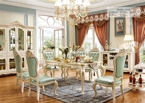 european dining room sets european style solid wood dining room set home furniture