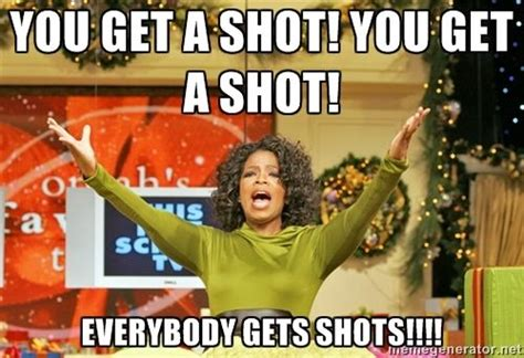 Meme Shot - tequila shots with oprah and gayle in ibiza more tequila