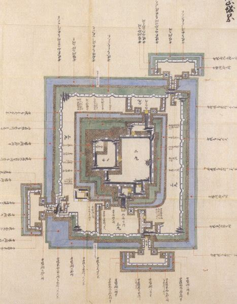 japanese castle floor plan japanese castle explorer