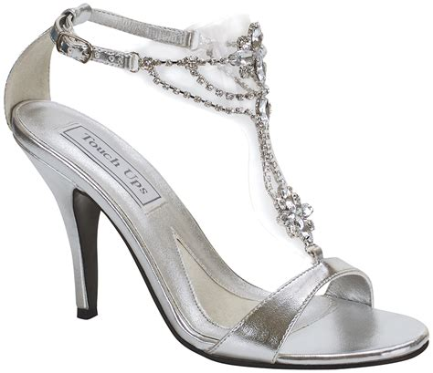 silver shoes for your prom and wedding