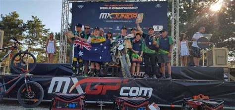 junior motocross racing motul mx nationals commends australian junior