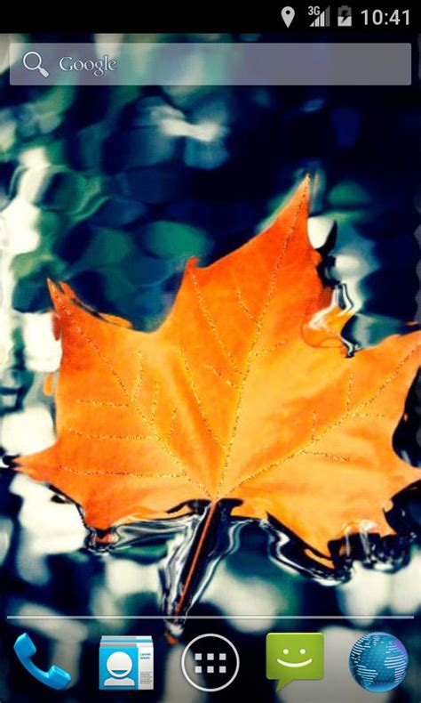 Leaf Live Wallpaper by Autumn Leaf Live Wallpaper Android App Free Apk By