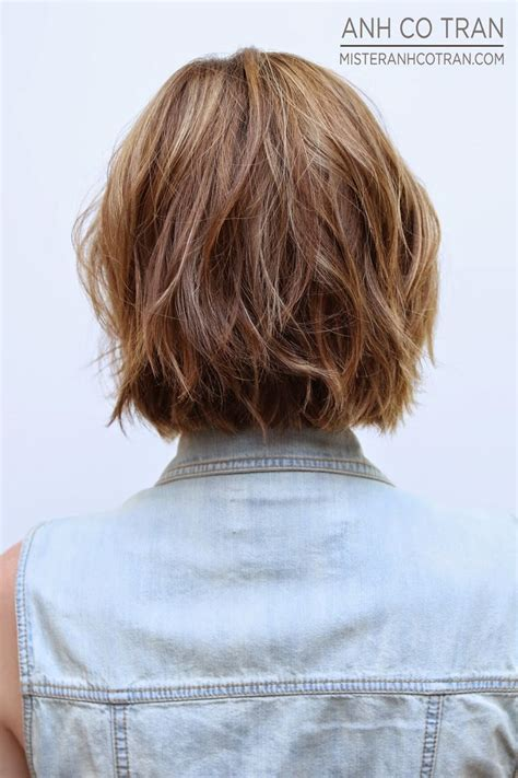 textured layered wavy hair by anh co tran hair with a 25 best ideas about short textured hair on pinterest