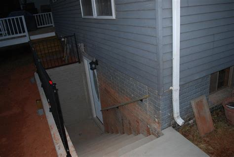 basement walk out doors walkout basement before after floor how