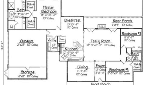simple acadian cottage house plans placement home building plans 21935