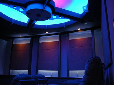 Home Theater Ceiling Lighting Home Theater Ceiling Panels And Lighting