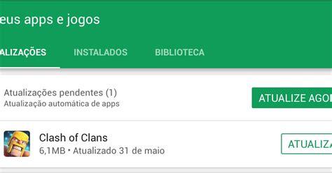 clash of clans dicas gemas gr tis tutoriais e layouts atualiza 231 227 o opcional corrige mais bugs no clash clash