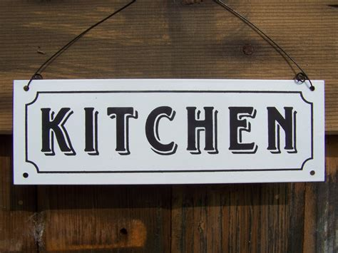 kitchen sign the king co