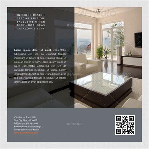 brochure layout inside interior design square 3 fold brochure v01 by rapidgraf