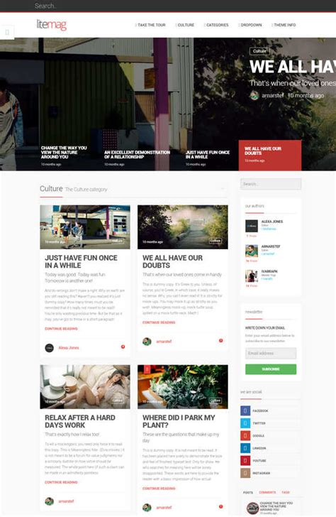 themes wordpress clean 10 best hand picked technology blog wordpress themes