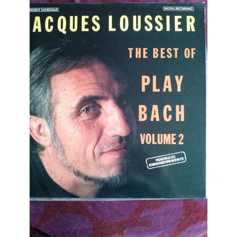 the best of bach the best of play bach vol 2 by jacques loussier lp with