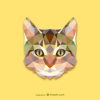 polygonal animal vectors photos and psd files free download