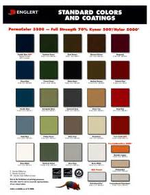 pac clad color chart 1 75 quot snap lock panel metal master shop