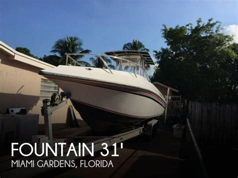 fountain fishing boats for sale florida fountain boats for sale in florida
