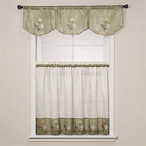 Bed Bath And Beyond Kitchen Curtains Window Curtain Tiers Bed Bath Beyond