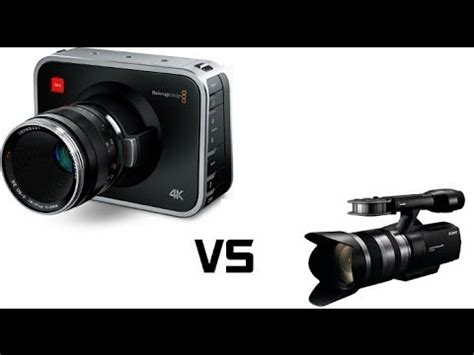 sony nex vg10 vs bmpc 4k youtube